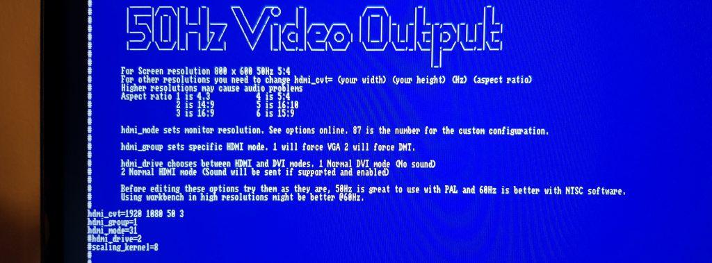 Ambian – Amiga på Raspberry Pi – Peters Retrohjørne